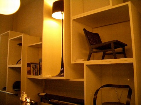 渋谷 カッシーナ「IXC.CAFFÈ」_a0039199_11381744.jpg