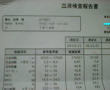 ナツオさんの血液検査結果 出ました♪_f0096569_22443047.jpg