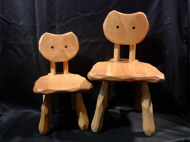 こねこ椅子 大ネコ椅子_e0072513_61634.jpg