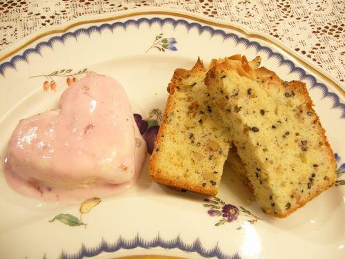 ごまのパウンドケーキ。。。.゚。*・。♡ _a0053662_2359144.jpg