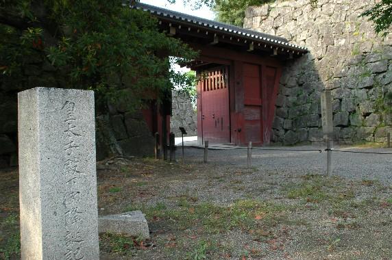 和歌山城  4  ( 追廻門 )_b0093754_2256274.jpg