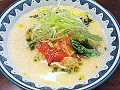 鶏とトマトの塩そば@自作らーめん_f0080612_1537496.jpg