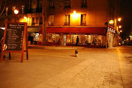 オレンジの光で包まれた、夜のパリをお散歩・・・_c0024345_11571540.jpg