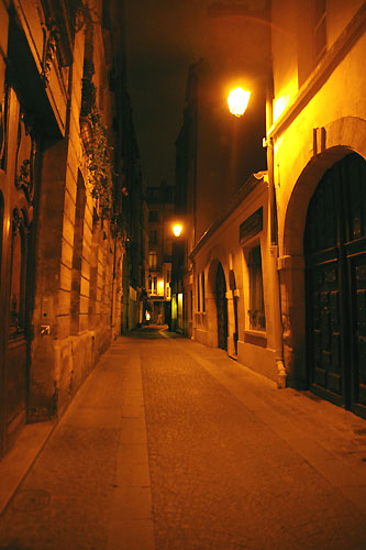 オレンジの光で包まれた、夜のパリをお散歩・・・_c0024345_11572950.jpg