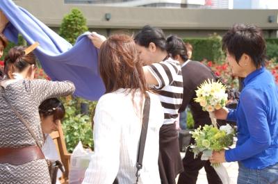 「けっこんぴあ」撮影。モデルは相武紗季ちゃん_c0072971_072578.jpg