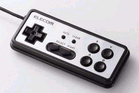 ELECOMからスーファミ似のコントローラ。_c0004568_11474399.jpg