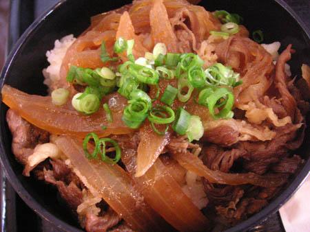 花坊さんの すき焼き丼ランチ_f0053279_12455948.jpg