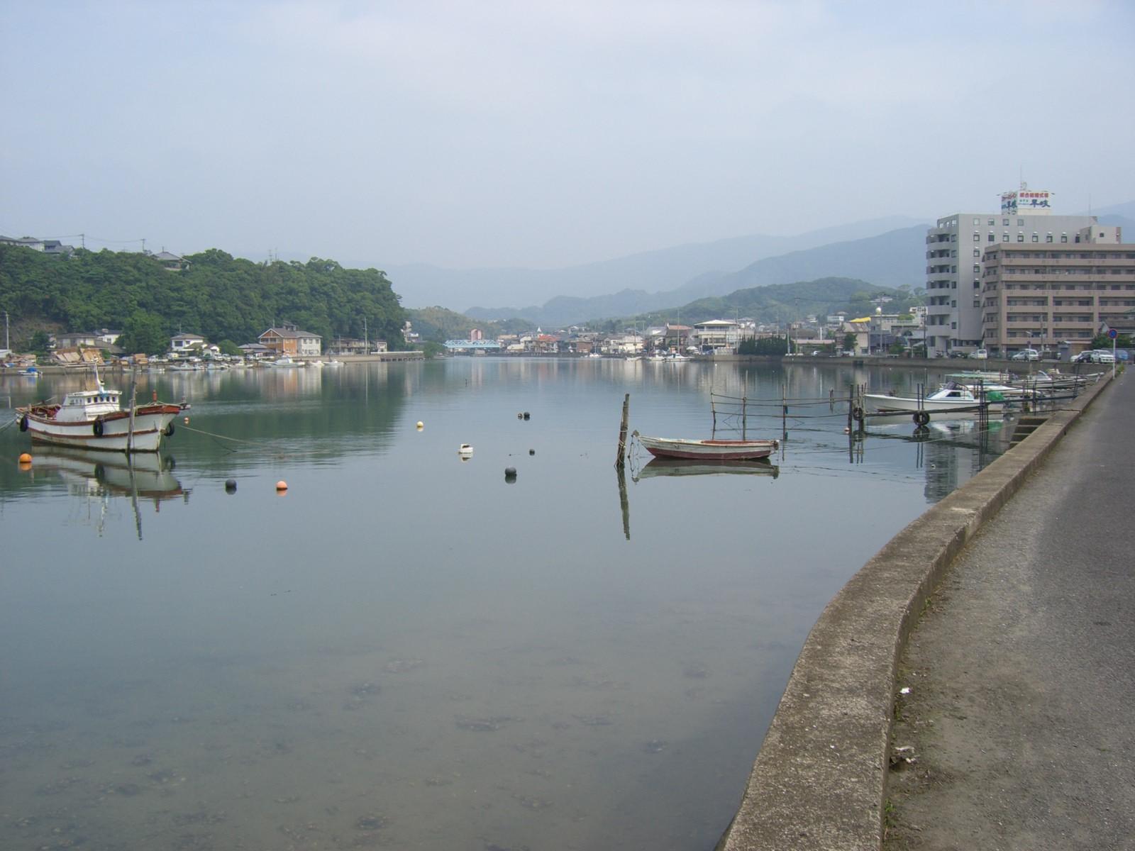 川のような海!_d0047569_21195695.jpg