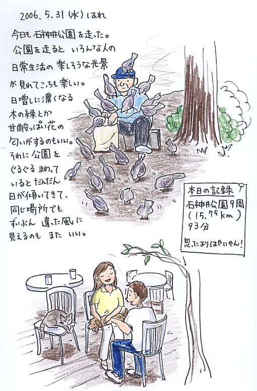 走った_f0072976_23165360.jpg