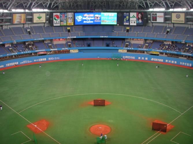 大阪ドームの最上階大阪ドームの最上階には、ビスタルームがある。「ビスタ」... 大阪ドームの最上