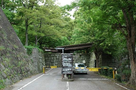 和歌山城公園への入口_b0093754_237177.jpg
