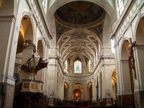 パリ 2006:4日目(5/7) 朝の礼拝~パレ・ロワイヤル_a0039199_20462699.jpg