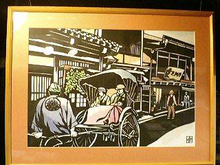 『彦根きりえ研究会作品展』_f0017409_23295370.jpg