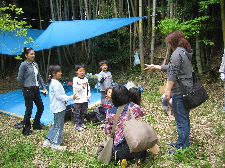 2006.Log Jizo Festival 筍掘り        ファミリーコース No1_c0038619_23111449.jpg