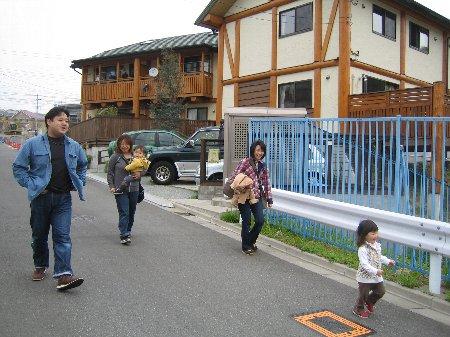 2006.Log Jizo Festival 筍掘り        ファミリーコース No1_c0038619_2311373.jpg