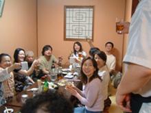 餃子を食べてジャズライブ~_a0041925_0384172.jpg