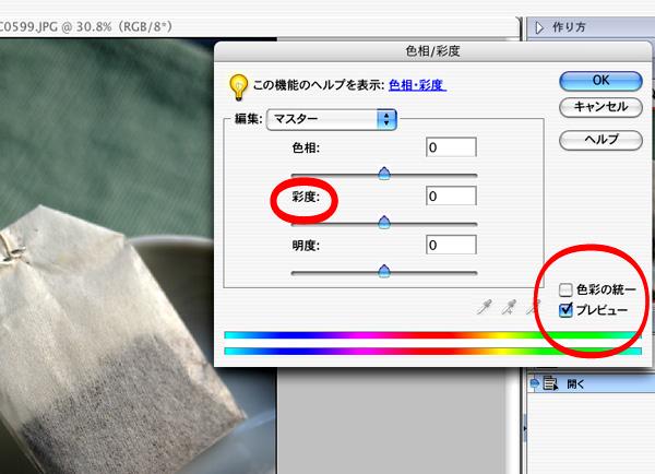 フォトショップで写真をモノクロに変換する方法_a0003650_23192984.jpg