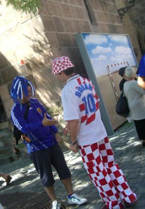 日本対クロアチア@ニュルンベルグ_d0073107_20262182.jpg