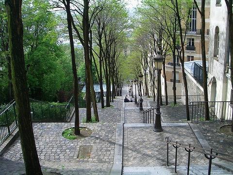 パリ 2006:5日目(5/8) モンマルトルの丘_a0039199_2355020.jpg