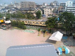 ◆入院生活 10日目◆ −階段を使って屋上へ−_a0033733_11122180.jpg