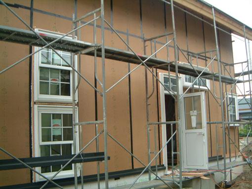 Q1小坂の家04:屋根・軸検査_e0054299_12214758.jpg