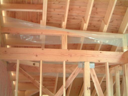Q1小坂の家04:屋根・軸検査_e0054299_1222118.jpg