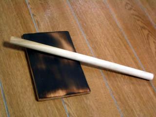 板と棒を購入
