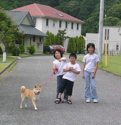 2006年6月25日龍平君姉弟と遊ぶ_f0060461_1523735.jpg
