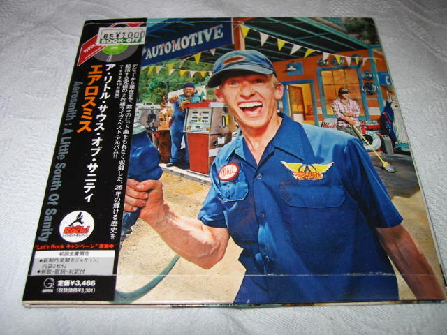AEROSMITH / A LITTLE SOUTH OF SANITY (紙ジャケ)_b0042308_2282672.jpg