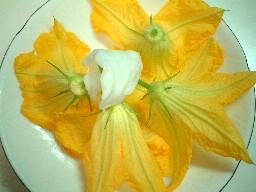 ズッキーニの花を食す♪~そしてギリシャの香り~_f0043911_114242.jpg