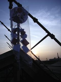 東船橋の家 上棟_c0019551_12593940.jpg