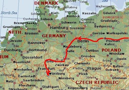 ユーラシア大陸横断 (57) ベルリンからヴュルツブルグへ_c0011649_13531821.jpg