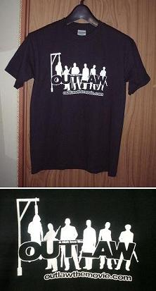 OUTLAWのTシャツ