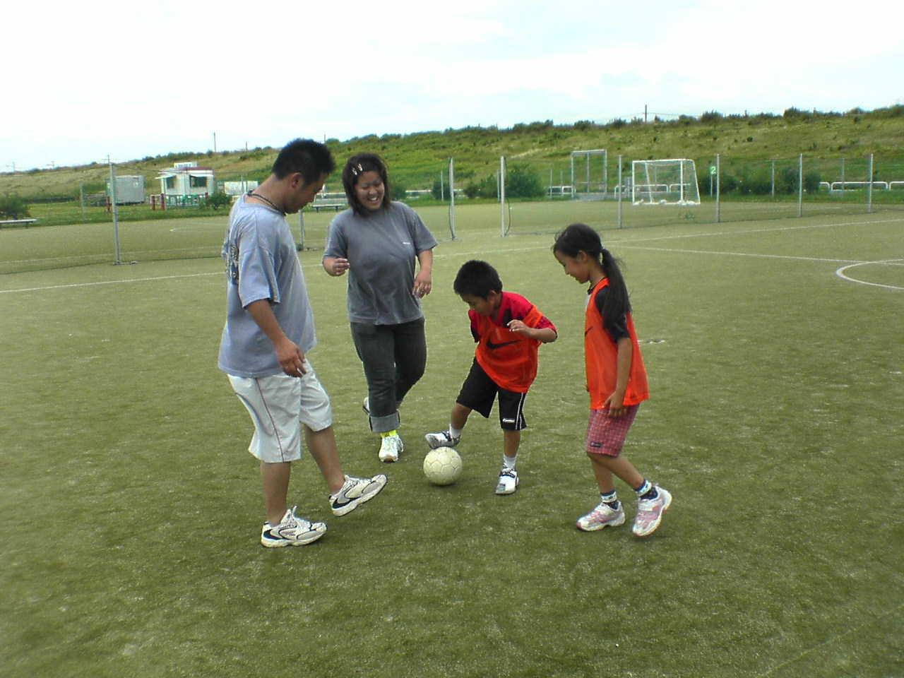 ファミリーサッカー in 鳥飼_a0059812_23365272.jpg