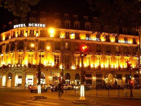 パリ 2006:ホテル スクリーブ_a0039199_2212261.jpg