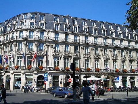 パリ 2006:ホテル スクリーブ_a0039199_2213030.jpg