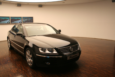 VW Phaeton -日本未発売のVWフラッグシップ-_f0040103_0284516.jpg