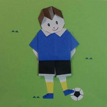 簡単 折り紙 折り紙 顔 : origami01.exblog.jp