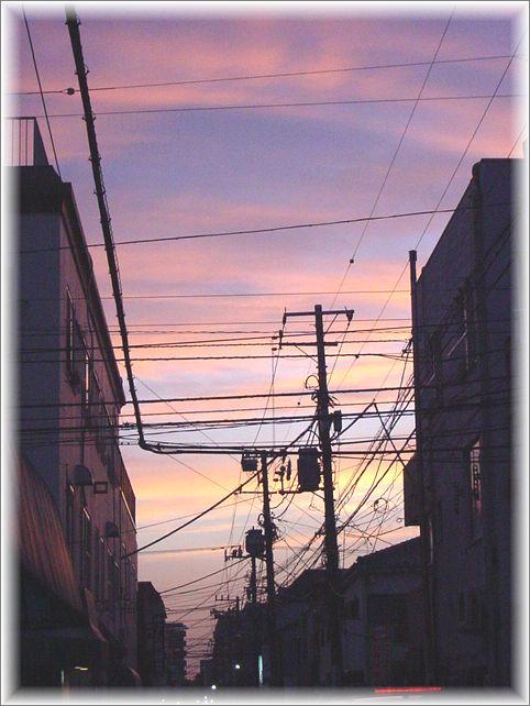 2丁目の夕焼け_a0037389_1531074.jpg