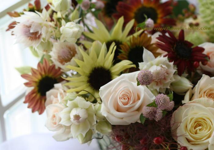 ギフト 季節の花の詰め合わせ_a0042928_23391481.jpg