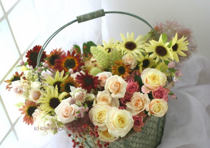 ギフト 季節の花の詰め合わせ_a0042928_233986.jpg