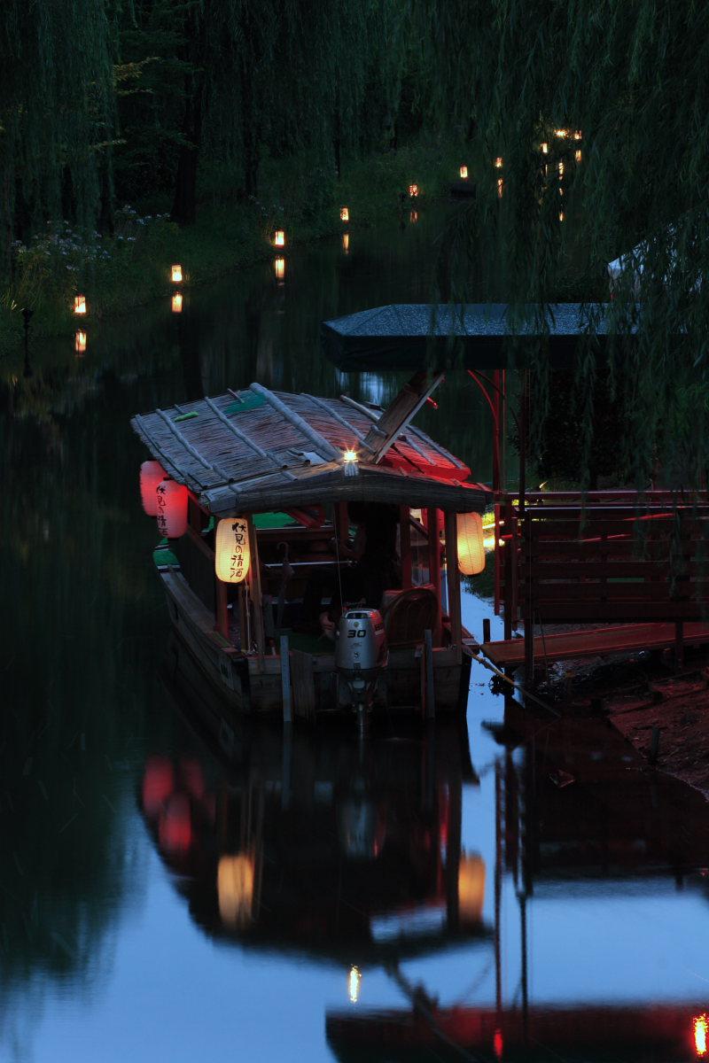 京都 伏見/十石船 ライトアップ_f0021869_1544392.jpg