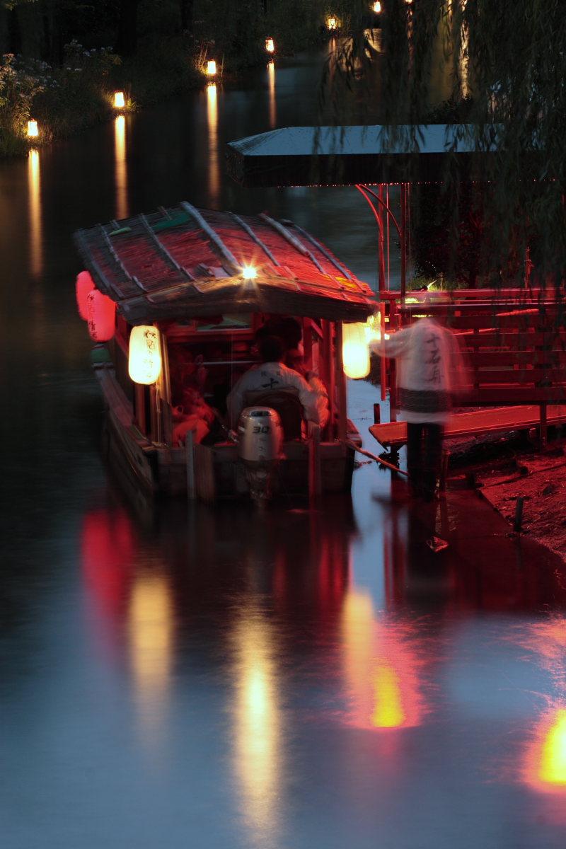 京都 伏見/十石船 ライトアップ_f0021869_1552912.jpg