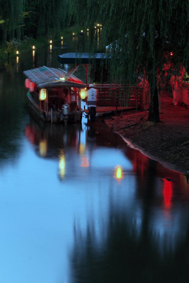 京都 伏見/十石船 ライトアップ_f0021869_155721.jpg