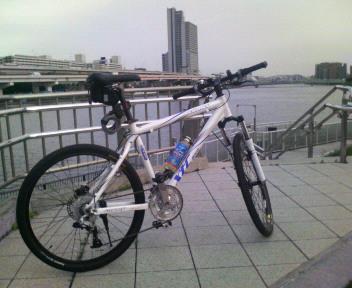 ... 向い風に負けるな!自転車通勤