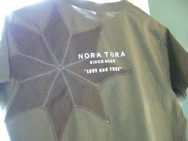 NORA TORA メンズTシャツが遂に完成!_e0035344_1628167.jpg