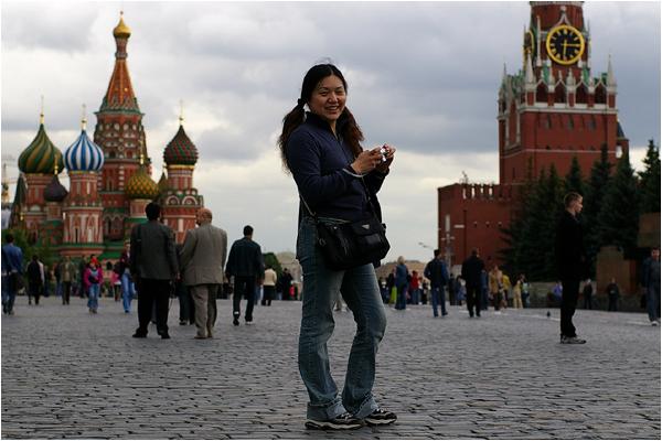 モスクワ2日目 赤の広場_b0036326_18281211.jpg