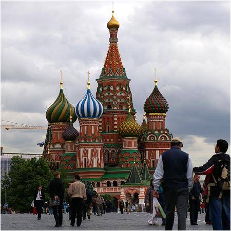 モスクワ2日目 赤の広場_b0036326_18283360.jpg