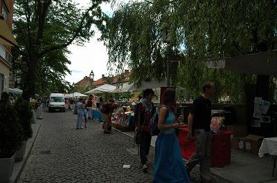 リュブリャーナの街並み その1_e0076932_815420.jpg