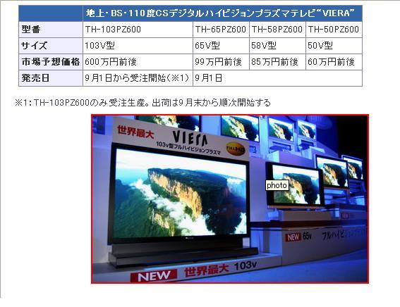 103V型プラズマテレビ_e0001481_23495345.jpg